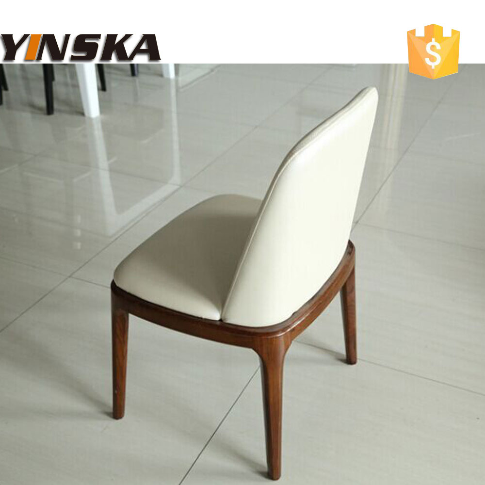 Cheap ikea leather dining room chair in chairs from