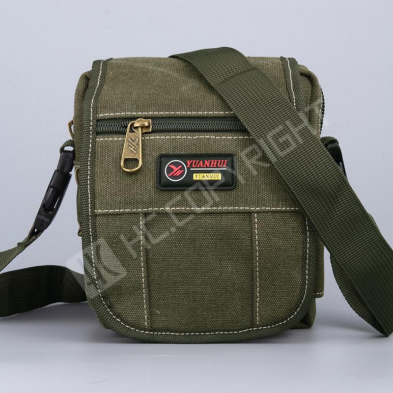 New Fashion Army Green Shoulder Handbags Man Casual Waist Fanny Bags Pack Men's Small Messenger Outdoor Hiking Crossbody Bags(China (Mainland))