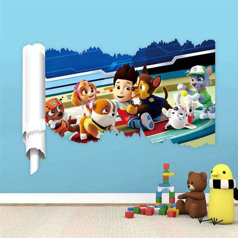 Aliexpress.com : acquista cartoon movie wall stickers per bambini ...