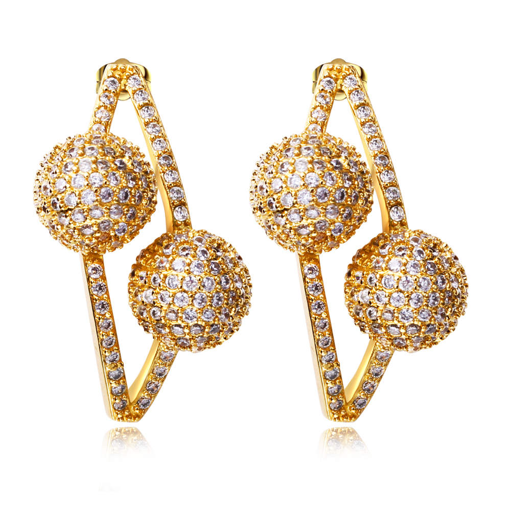 Amazing  For Gold Earrings For Women Tanishq  Gold Earrings Designs