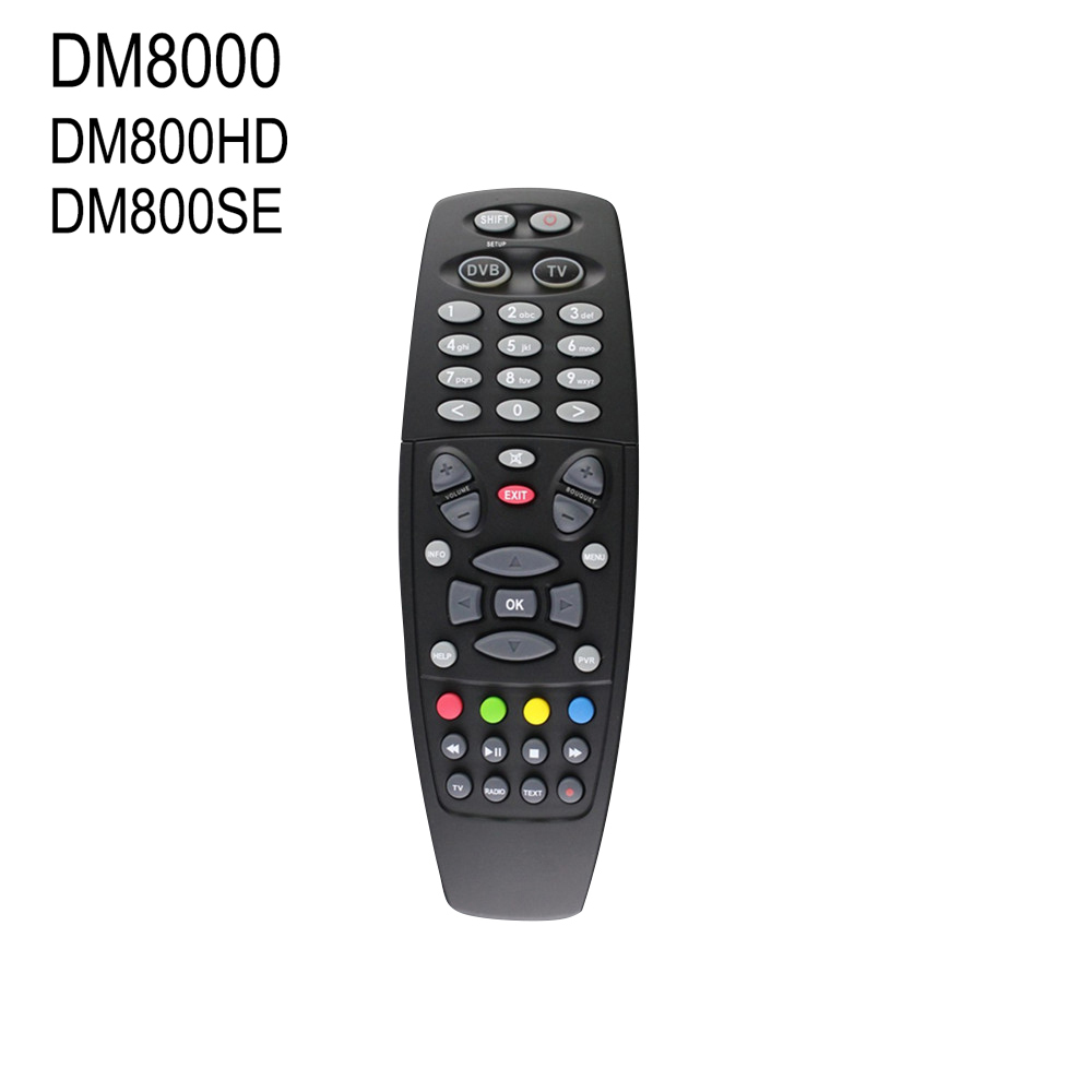Free shipping Black color DM800 Remote Control for Dream Box DM800SE DM800HD DM8000 High Quality(China (Mainland))