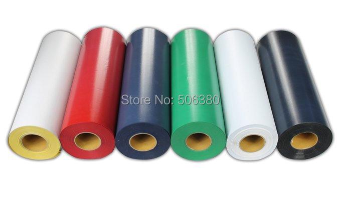 Free shipping 6 meters Flocking Heat Transfer Vinyl Cut By Cutting Plotter Transfer DIY T-shirt(China (Mainland))