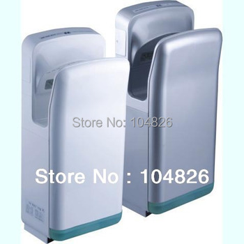 dual jet air Hand Dryer Automatic Hand Dryer with dual air injection jet hand dryer medical grade sanitaryware kill H1N1&EBOLA