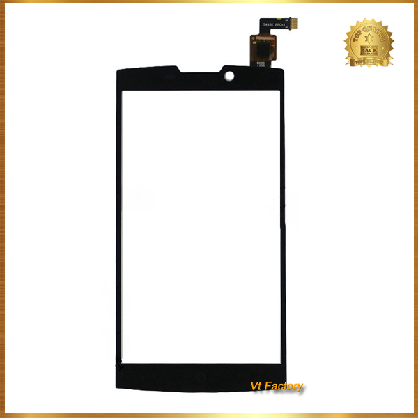 Black For Highscreen Boost 2 II Innos D10 Createl D10 phone touch Screen Panel Digitizer + LCD Display Combo Assembly Free Ship(China (Mainland))