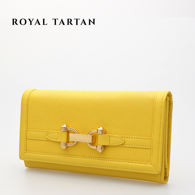 ROYAL font b TARTAN b font famous brand 2016 fashion wallet luxury clutch bag women genuine