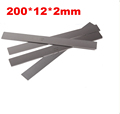 Industrial commercial raw material Turning tool High speed steel 200x12x2mm HRC 60 HSS DIY Knife material