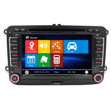 2 Din Auto 7″screen Built-in canbus Car DVD with GPS Navigation for VW JETTA PASSAT B6 CC GOLF 5 6 POLO Touran Tiguan Caddy SEAT