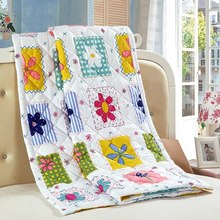 Retail Summer Thin Quilt Soft Sleeping Bed Quilt Air Condition Comforter Comfy Blanket Colchas De Verano Home Textiles for Adult(China (Mainland))