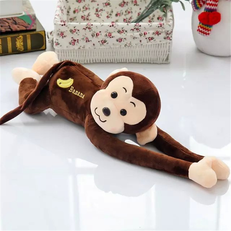 5 Style 45cm 60cm Long Arm Monkey from Arm to Tail Plush Toys Colorful Monkey Curtains Monkey Stuffed Animal Doll(China (Mainland))