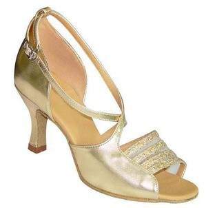 N-024 Ladies Ballroom latin dance shoes crystal diamond dance shoes Fast shipping worldwide<br>