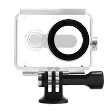 Xiaomi Yi Waterproof Case 40M Underwater Diving Sports Waterproof Box For Xiaomi yi Action camera (White)