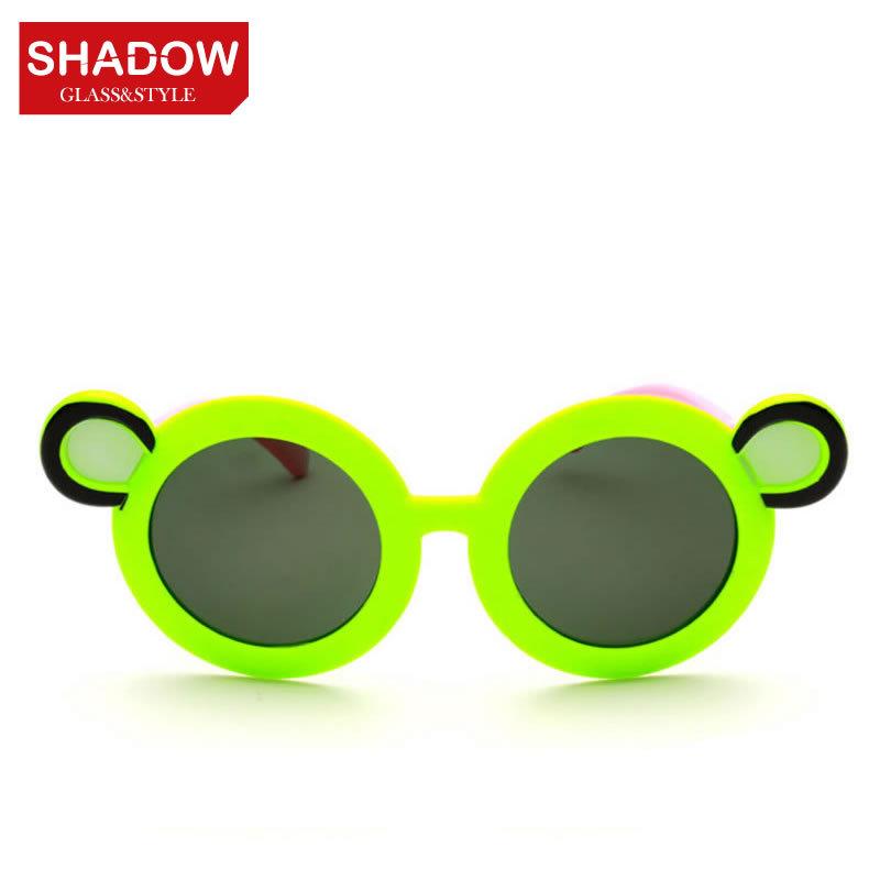 Children's fashion sunglasses polarized sunglasses yurt cool children boys and girls classic glasses glasses Teddy Bear(China (Mainland))