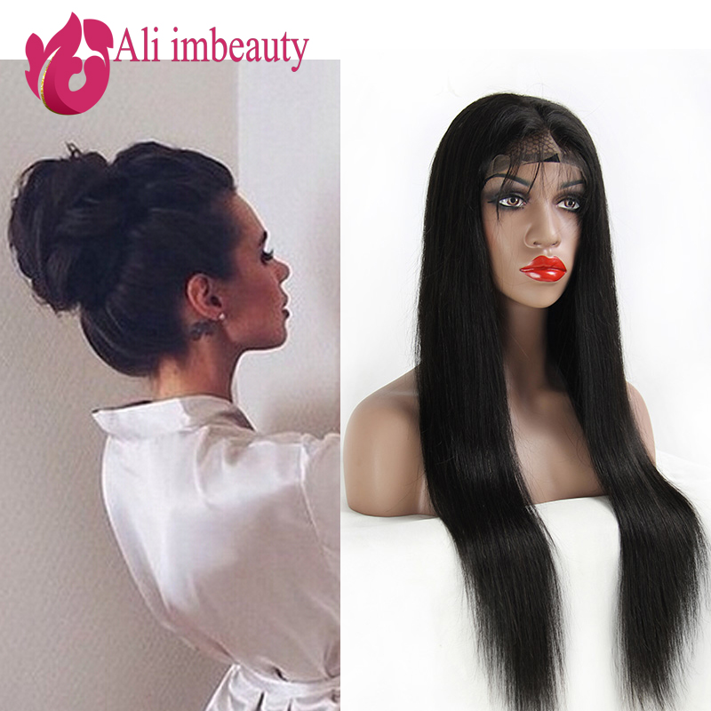 Гаджет  Full Lace Human Hair Wigs Brazilian Deep Wave Lace Front Wigs brazilian hair wigs Natural Color Full lace wig for black women None Волосы и аксессуары