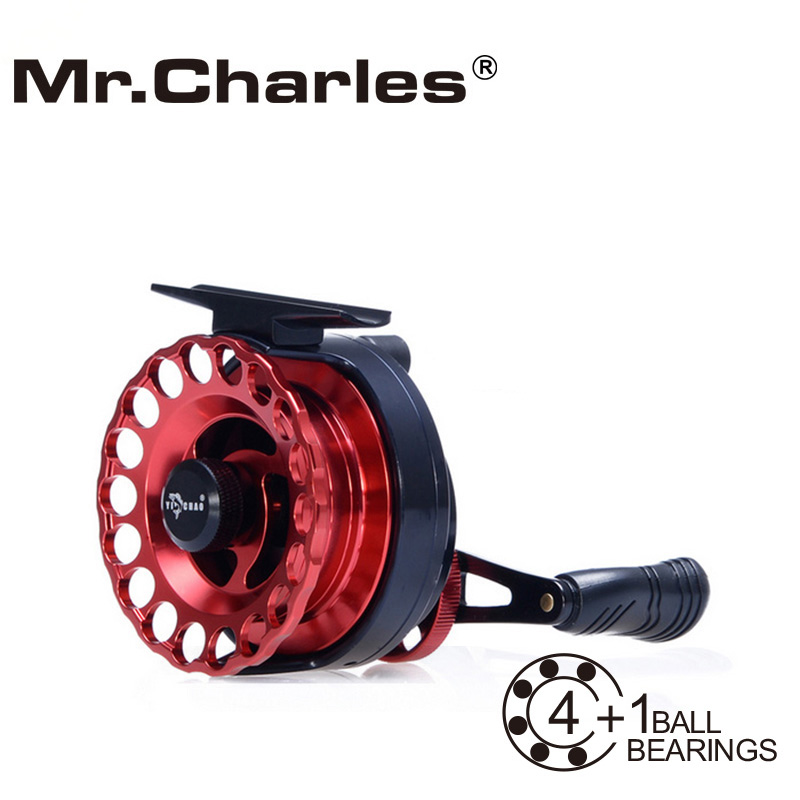 Mr.Charles New MMD65 Gear ratio 3.6:1 Aluminum Front-end Fishing Left/Right Hand Fly Fishing Reel Raft Ice Fishing Reel(China (Mainland))