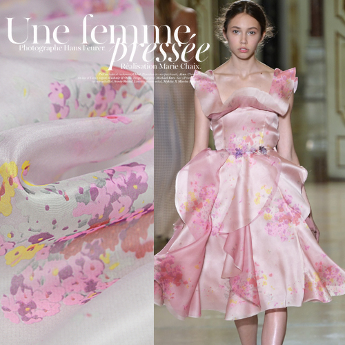 Patchwork Fabric New Tissus Tulle Rolls Sicily - Light Perspective Acidtypewater Age Eugen Silk Yarn Fabrics Of Cloth Soft 2016(China (Mainland))