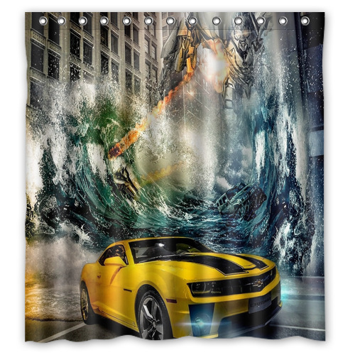 Transformers Shower Curtain