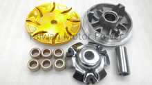 Taiwan P.Sheep Gold CVT Kit Roller fit KYMCO Xciting 250 300 G DINK BWT&WIN HIGH PERFORMANCE pulley set modification motorcycle(China (Mainland))