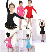 2013 Child dance clothes/ Latin competition clothing/ Latin dance clothes Child Latin dance skirt girl latin dance dress