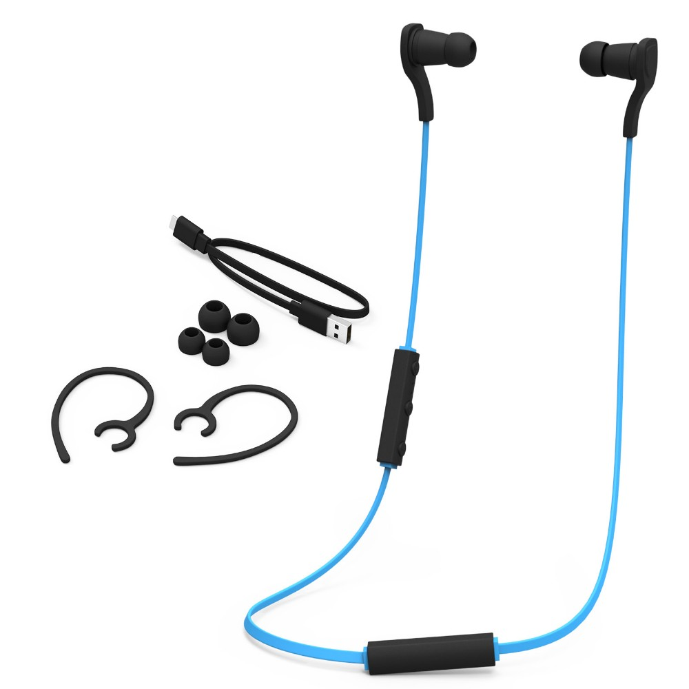 Top Quality Wireless Headset Bluetooth 4.1 stereo in-ear run Sport Earphone headphones  with Mic for iPhone Samsung LG