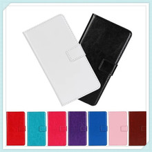 Fashion Crazy Horse pattern Leather Wallet Stand Card Holder Case For Huawei Ascend P7 mini Flip Cover Phone Bags