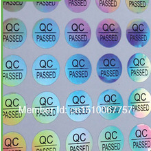 Buy Wholesale Free Q.C Passed Laser Hologram Sticker Label 10mm MOQ:2000 pcs Custom New Logo Will Cost Logo Free for $15.20 in AliExpress store