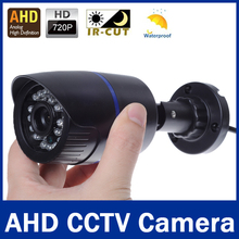 "CCTV Camera 1/4"" CMOS Sensor 2000TVL IR-Cut Filter AHD Camera 720P Indoor / Outdoor Waterproof 1080P 3.6mm Lens Security Camera"