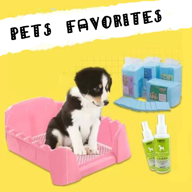 Indoor Pet Dog Toilet Pad General Toilet Potty Pad Training Plastic Accessories Small Dog Toilet Potty Tray Pet Supplies 70903(China (Mainland))