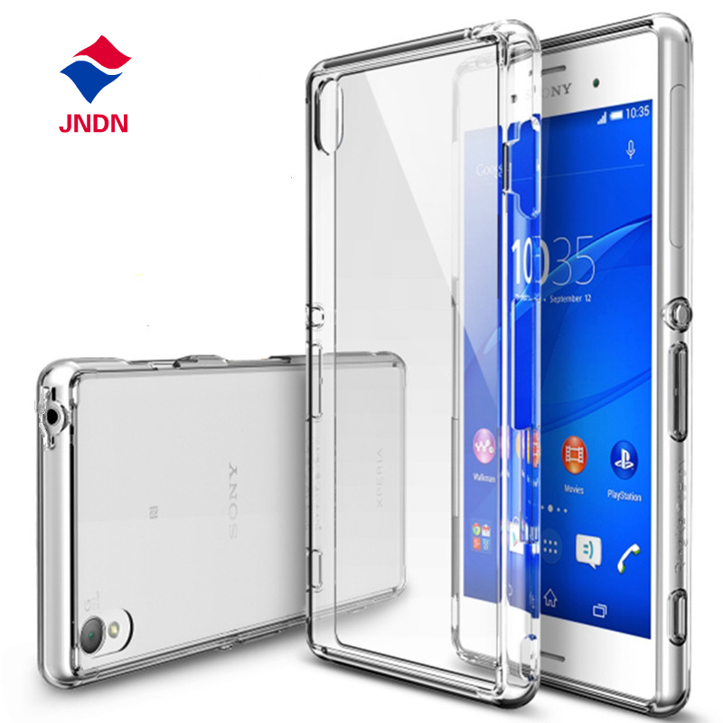 Ultra Thin Slim 0.3mm Clear Transparent Soft Silicone TPU sFor Sony Xperia Z3 Case For Sony Xperia Z3 Cell Phone Back Cover Case(China (Mainland))