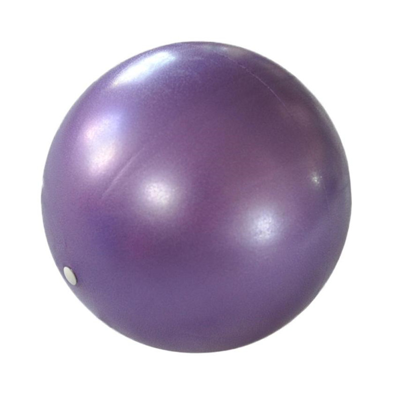 New Arrival Fitness Yoga Ball 25cm Smooth Balance Fitness Gym Exercise Ball With Pump Balance Pilates Balls(China (Mainland))