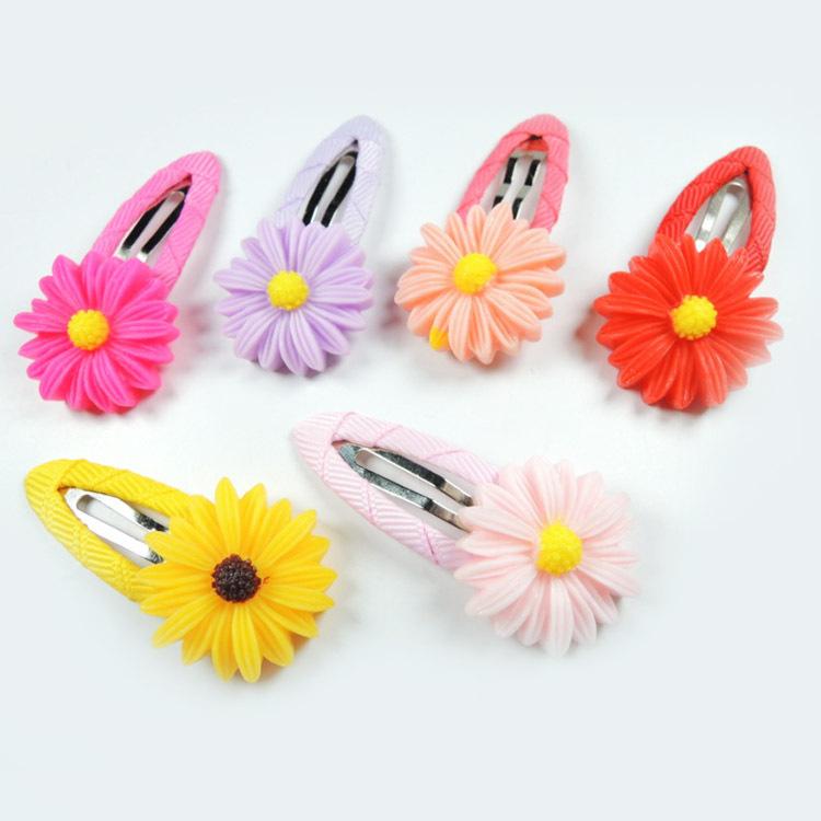 2pcs Baby Girls Hair Clip Band Hairpins Toddler Kids Flower Pumpkin Fashion Gift 6 Colors Drop Shipping BB-119(China (Mainland))