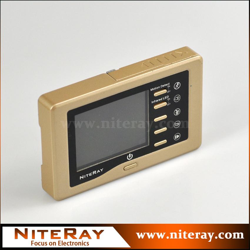 Apartment door bell door camera motion detect NiteRay NR842