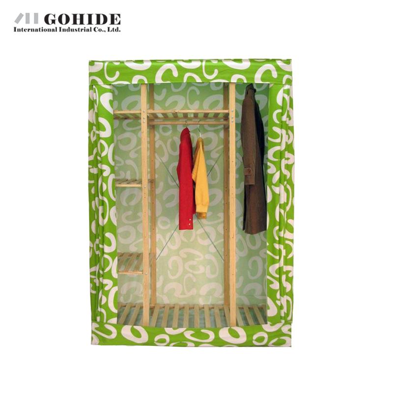Gohide Savoring Pine Home Storage Wardrobe Solid Wood Clothes Cabinet Closet Cabinet Storage Coat Hangers Lockers(China (Mainland))