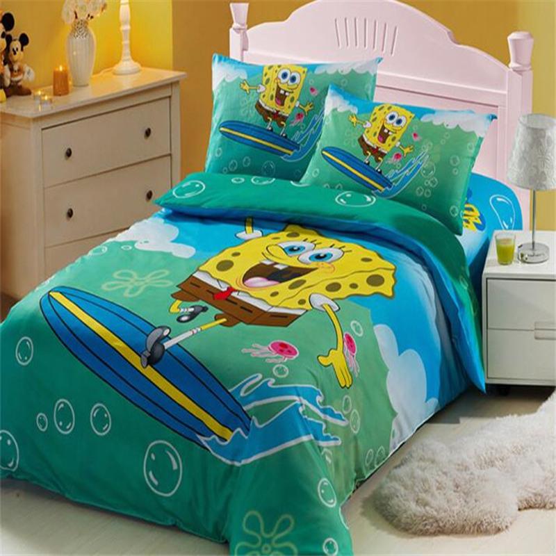 bedding set promotion shop for promotional spongebob girl bedding set