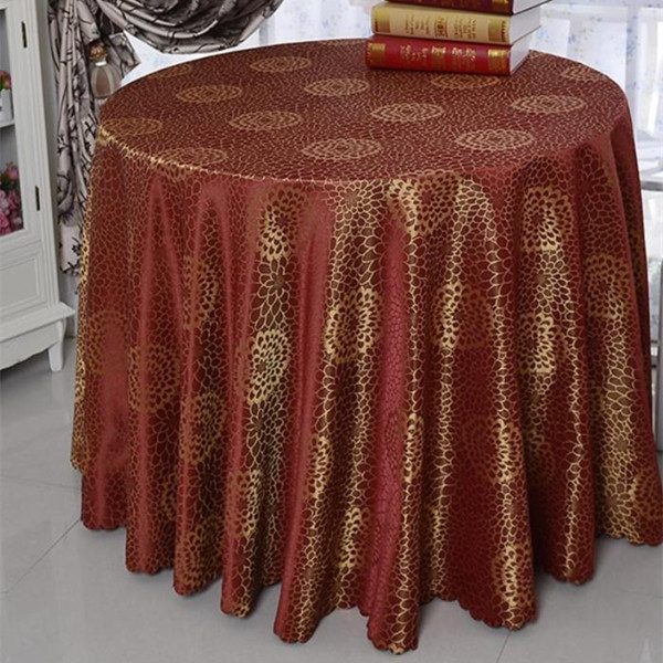 Luxury Ding Table Cloths Rectangular Home Decoration Round Tablecloth Hotel Table Cover Party Wedding Table Linen(China (Mainland))