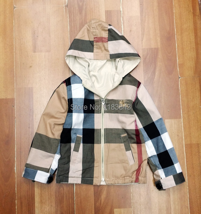 Children's autumn hoodied jackets outerwear Brand boys kids Apparel coats boys clothing jackets trench coat boy Children clothes(China (Mainland))