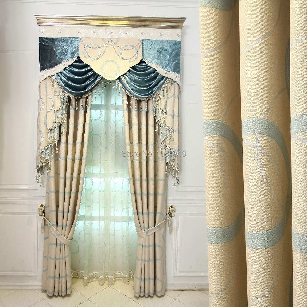 2015 new design simple custom bedroom livingroom upscale for Curtain design for living room