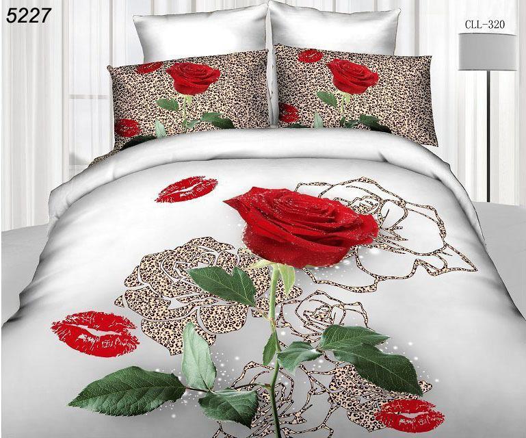 3d bed set rose bedding sets 3d home textiles cotton 3d bedding-set reactive 3d duvet cover bed sheet pillow cases 4pcs set 5227(China (Mainland))