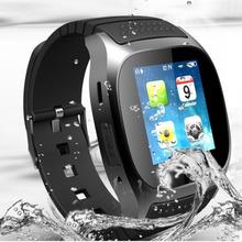 2016 смарт часы M26 с из светодиодов дисплей барометр высота метр музыкальный плеер usb-шагомер для android-ios мобильный телефон подарочные коробки