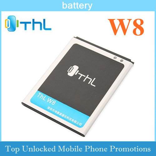 Free ship orginal New Rechargeable Li-on Battery For THL W8  smart phone 2000mAh backup wholesale Price power supply