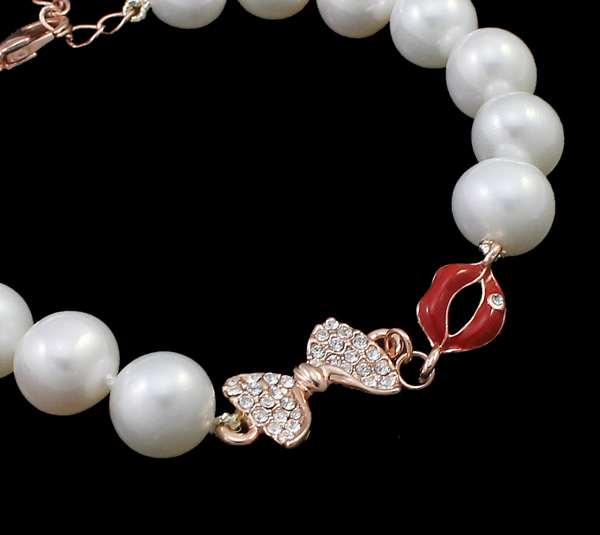 Free shipping!!!Freshwater Cultured Pearl Bracelet,Personality, Freshwater Pearl, brass lobster clasp, with 5cm extender chain