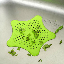 1PCS Colorful Silicone Suckers Bathroom Sink Accessories For Bathroom Sucker Sink Filter Sewer Hair Colanders Strainers Filter
