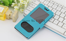 2015 New Original Flip View Window Protective Holster Leather cover case For Smartphone MPIE M10 4