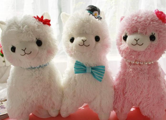 Arpakasso alpaca soft doll big size 50cm 3pcs/lot plush toys stuffed animal doll for baby car docoration<br><br>Aliexpress