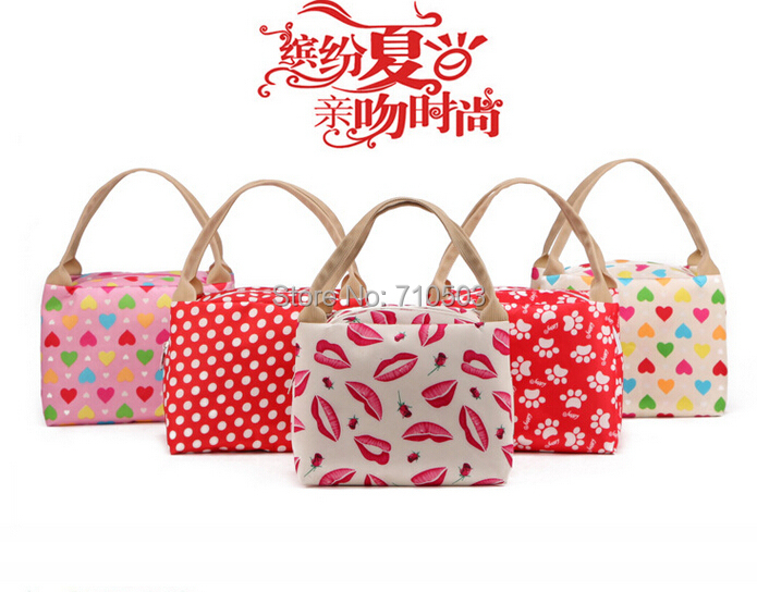Portable Lunch Picnic Bag out -door food tote Box For carrying Hand Camping Kit(China (Mainland))