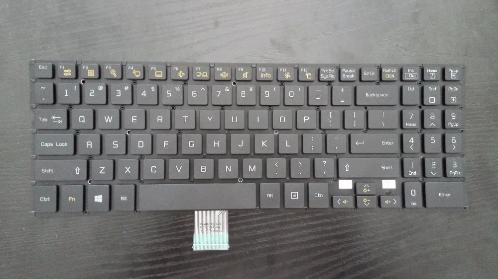orginal !! Laptop Keyboard For LG U560 UNICOM US black without frame SN5820 SG-59000-XUA(China (Mainland))