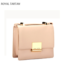 ROYAL TARTAN women messenger bags new 2016 luxury handbag designer shoulder bag women leather handbags fashion Clutch small bag