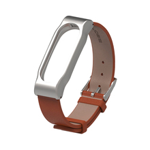 Buy Original Mijobs Metal Leather Strap Belt Xiaomi Mi Band 2 Wristband Miband 2 Smart Bracelet Colorful Strap Stock for $6.39 in AliExpress store