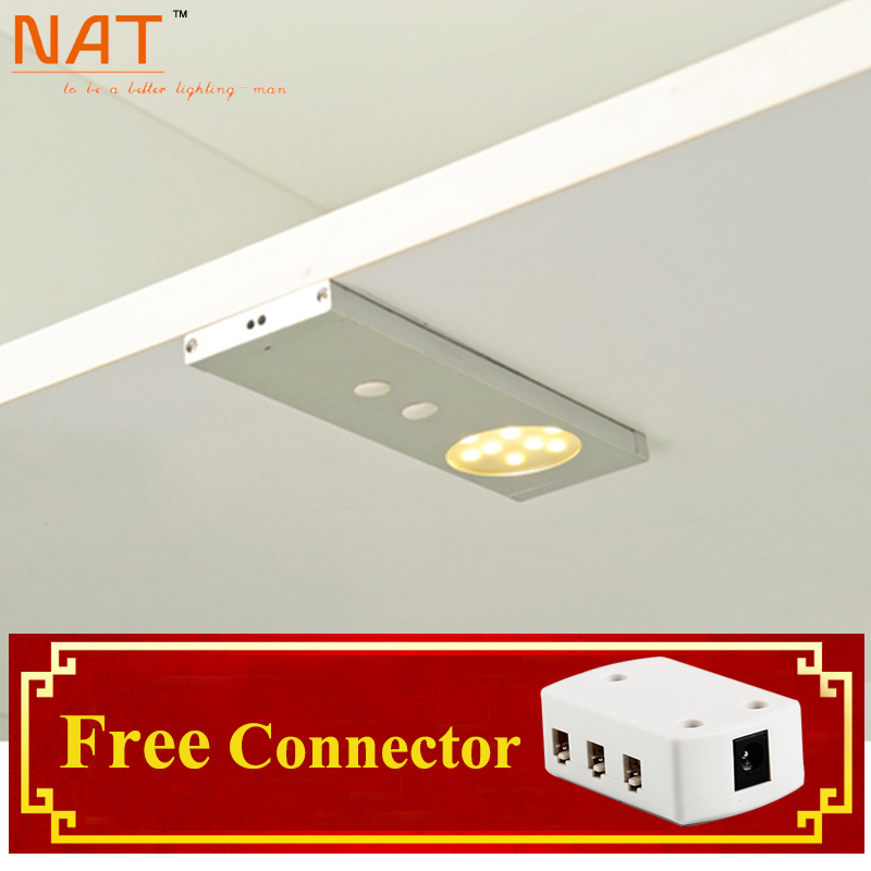 2016 Special new Modern 12v 5050 Chip 1.8w Led Ir Sensor Cabinet Lights kitchen under cupboard furniture with Door Light Lamps(China (Mainland))