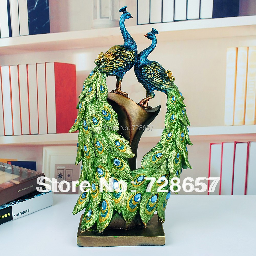 Buy traditional chinese peacock couple for Arts and crafts ideas for couples