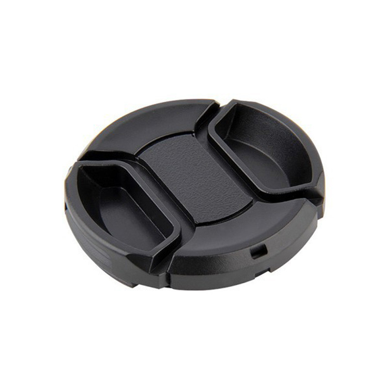 Universal Digital Camera Lens Cap with Anti-lost Rope for Canon Nikon Casio Fuji Protection Cover 49/55/58/62/67/72/77/82mm